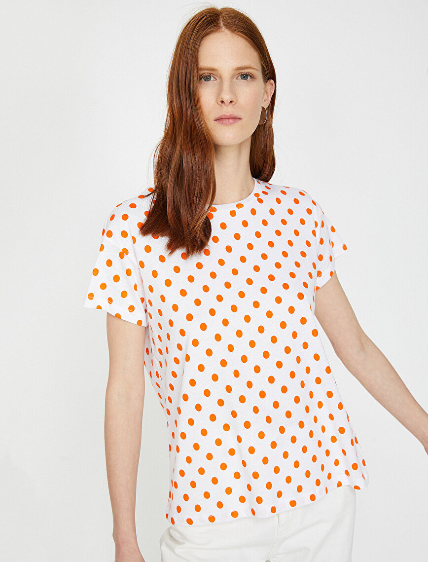 Puantiyeli T-Shirt