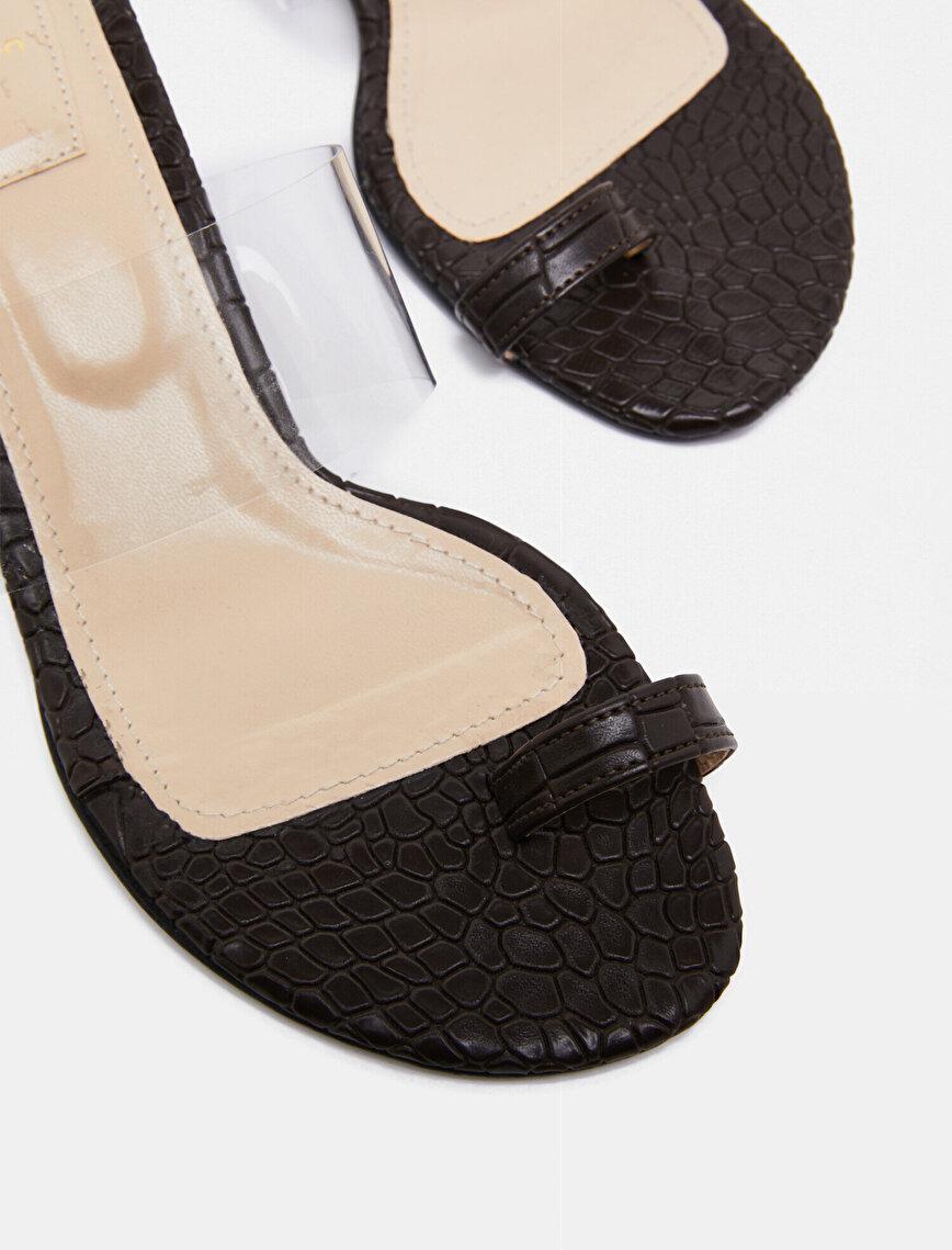 Arzu Sabancı for Koton Heels Flip Flop