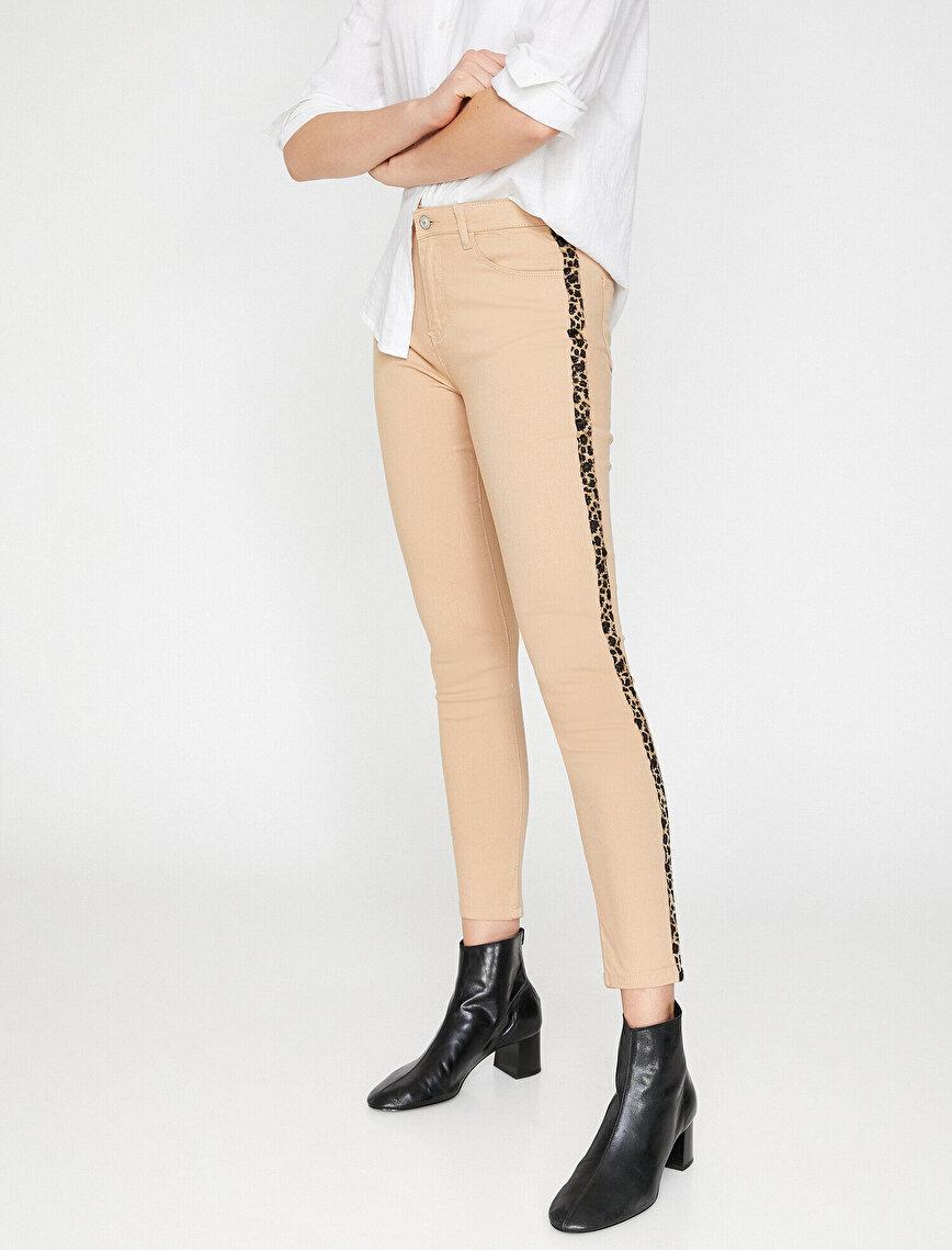 Leopard Patterned Trousers