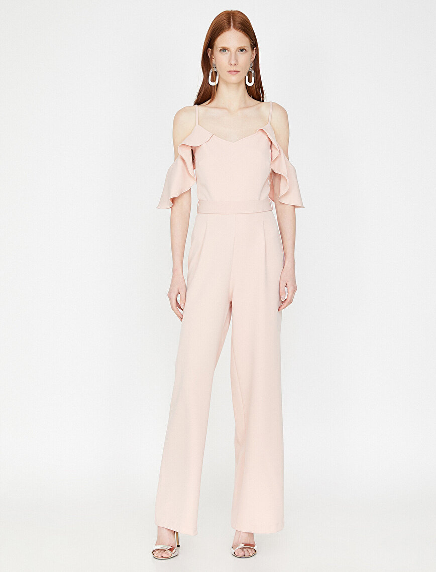 Belt Detailed Jumpsuits