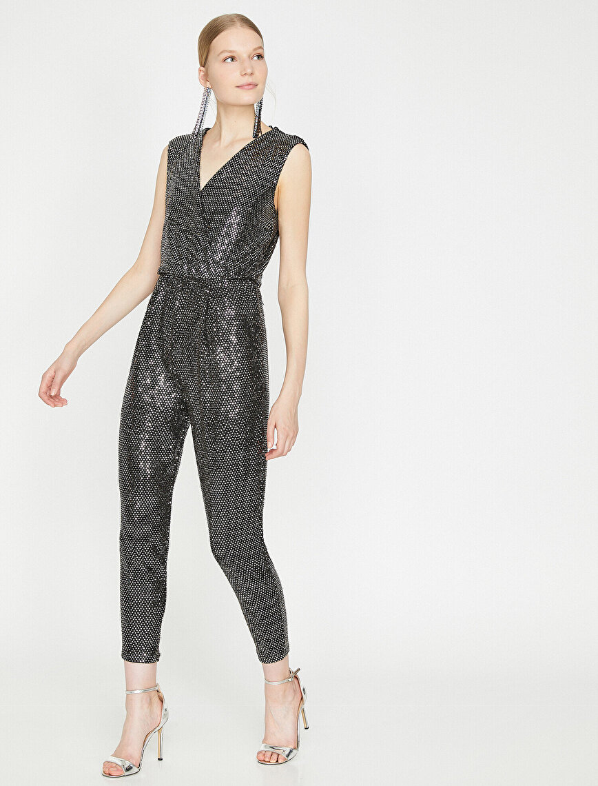 Sequin Detailed Jupsuits