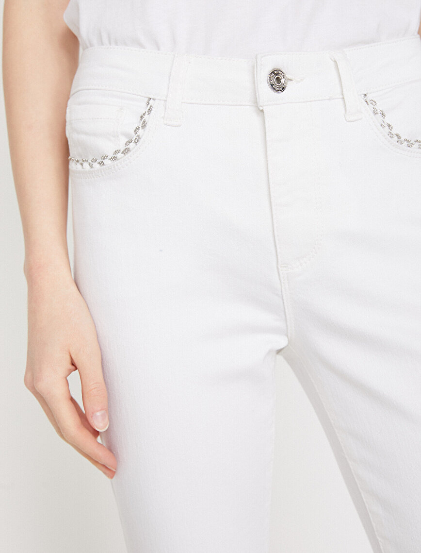 Pocket Detailed Jeans