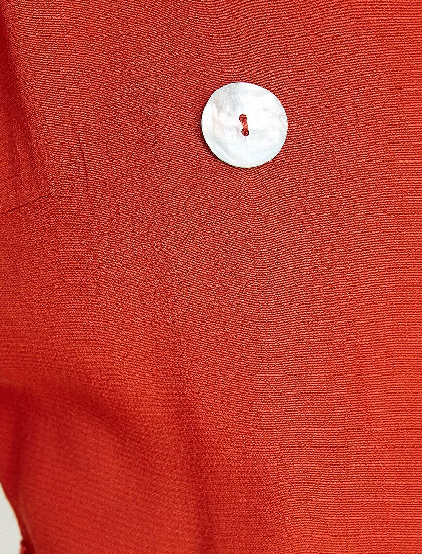 Button Detailed Jumpsuits