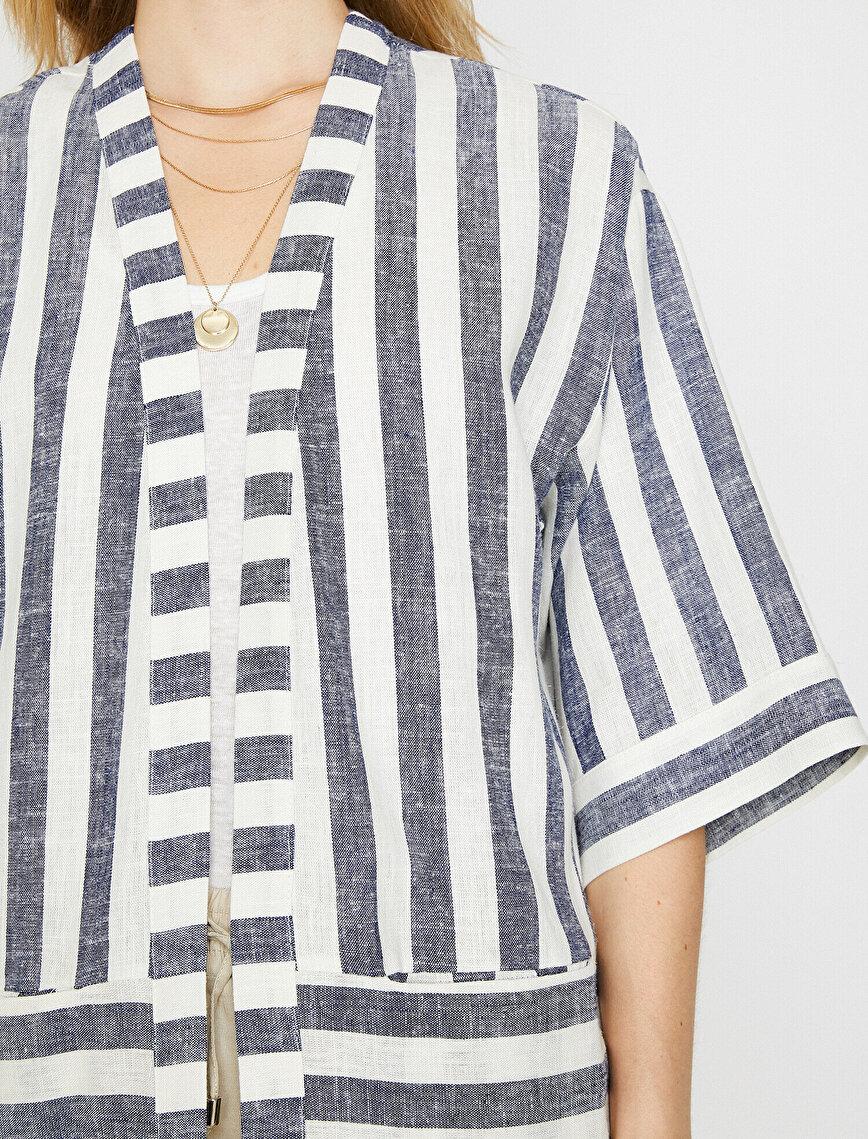 Striped Kımono
