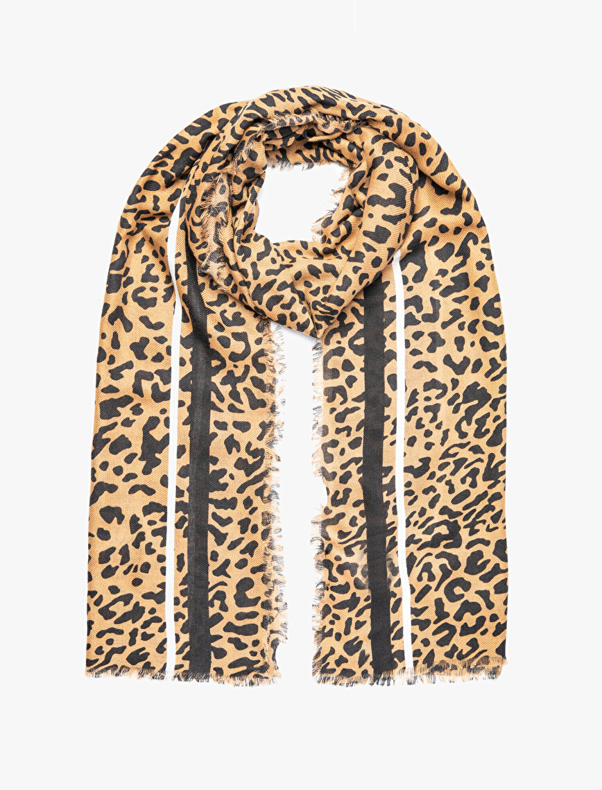 Leopard Patterned Shawl