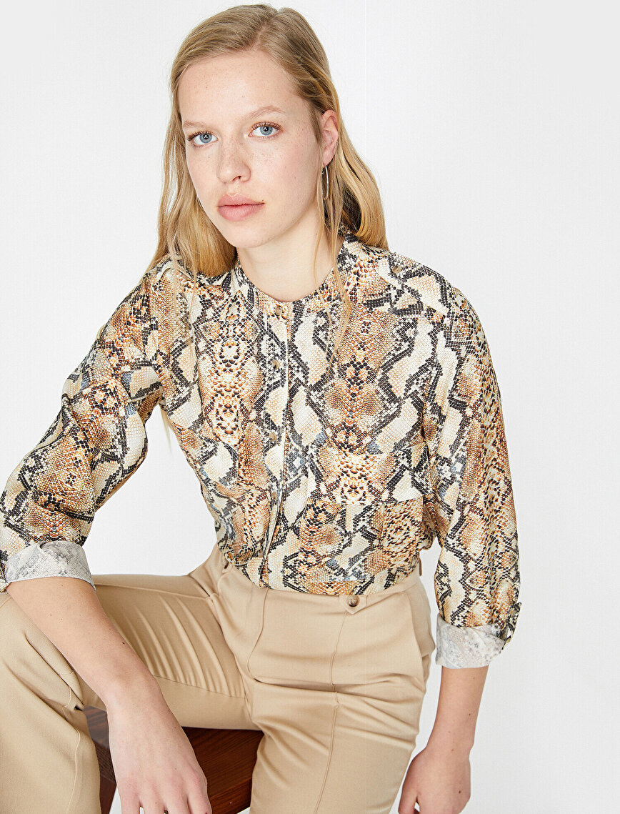 Snake Patterned Shirt