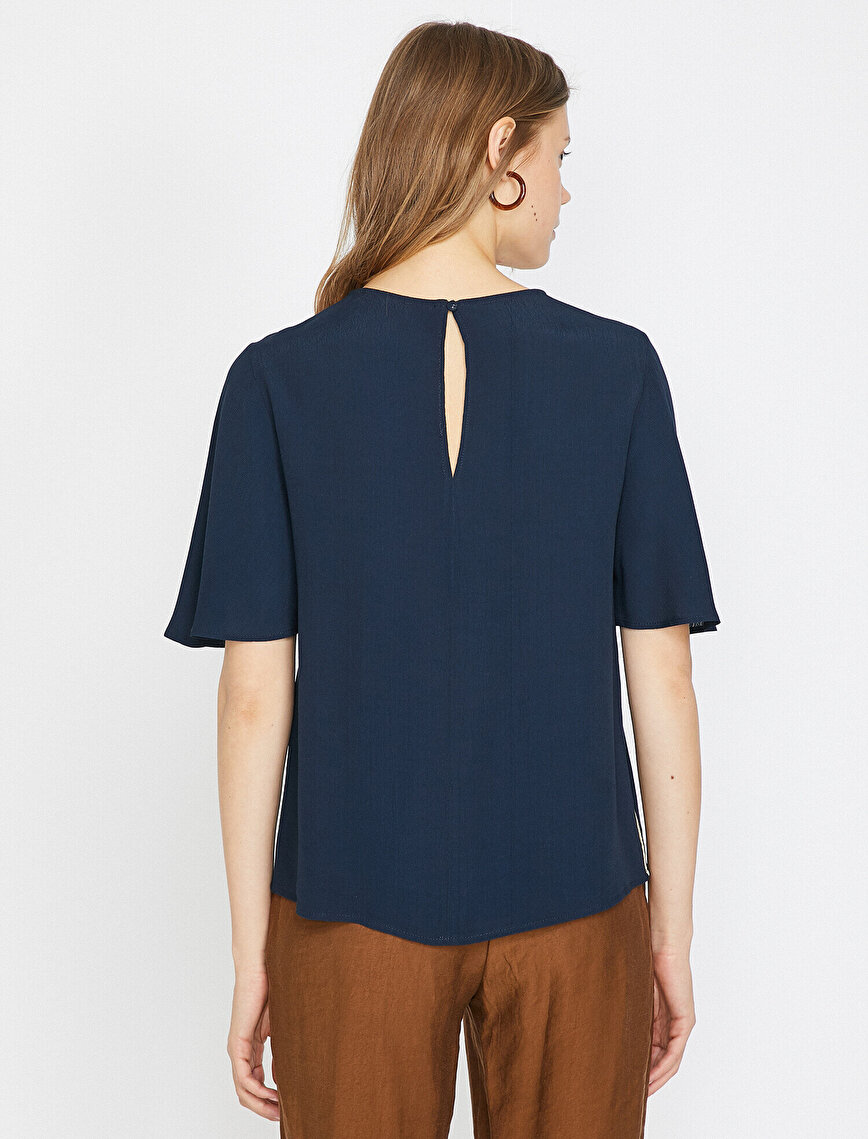 Banded Detailed Blouse