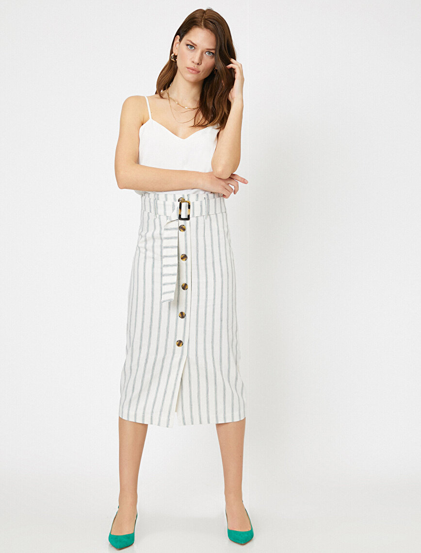 Arzu Sabancı for Koton Skirt