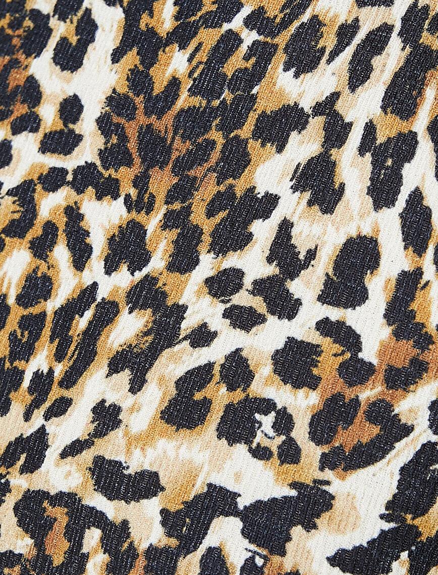 Leopard Patterned Dress