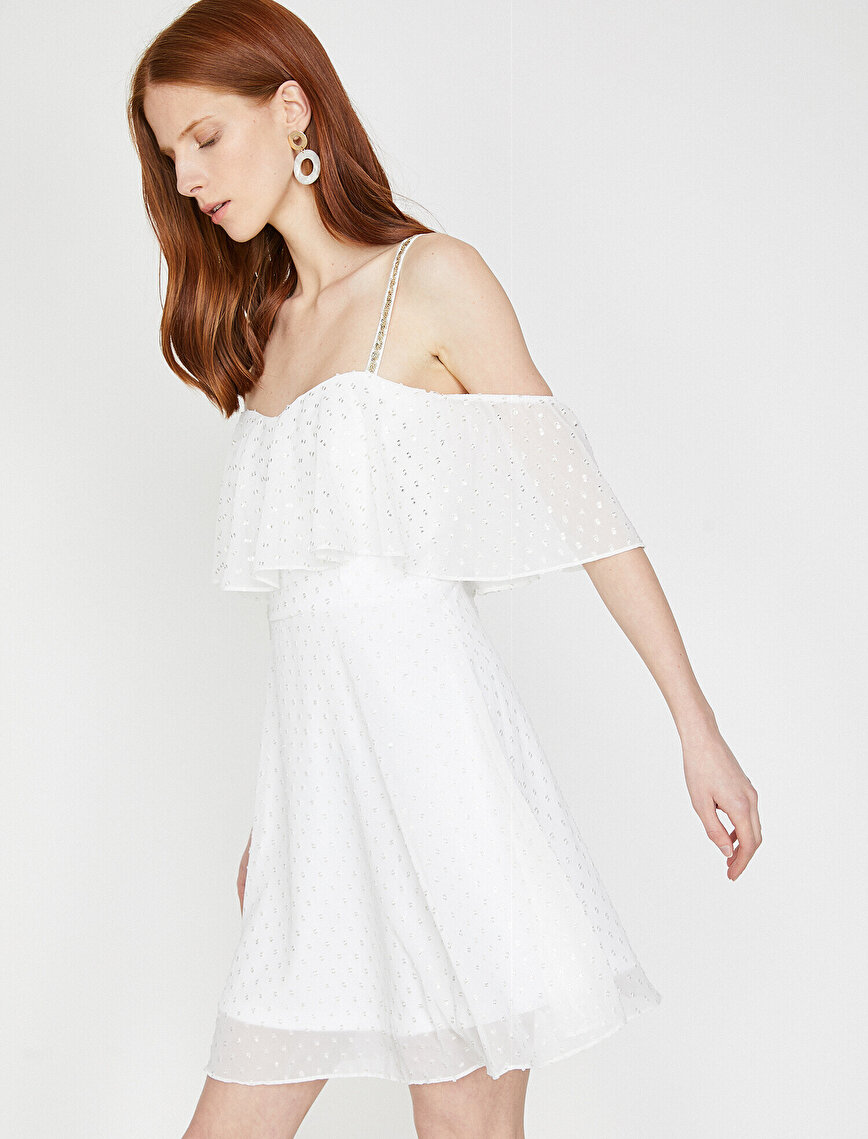Tulle Detaied Dress
