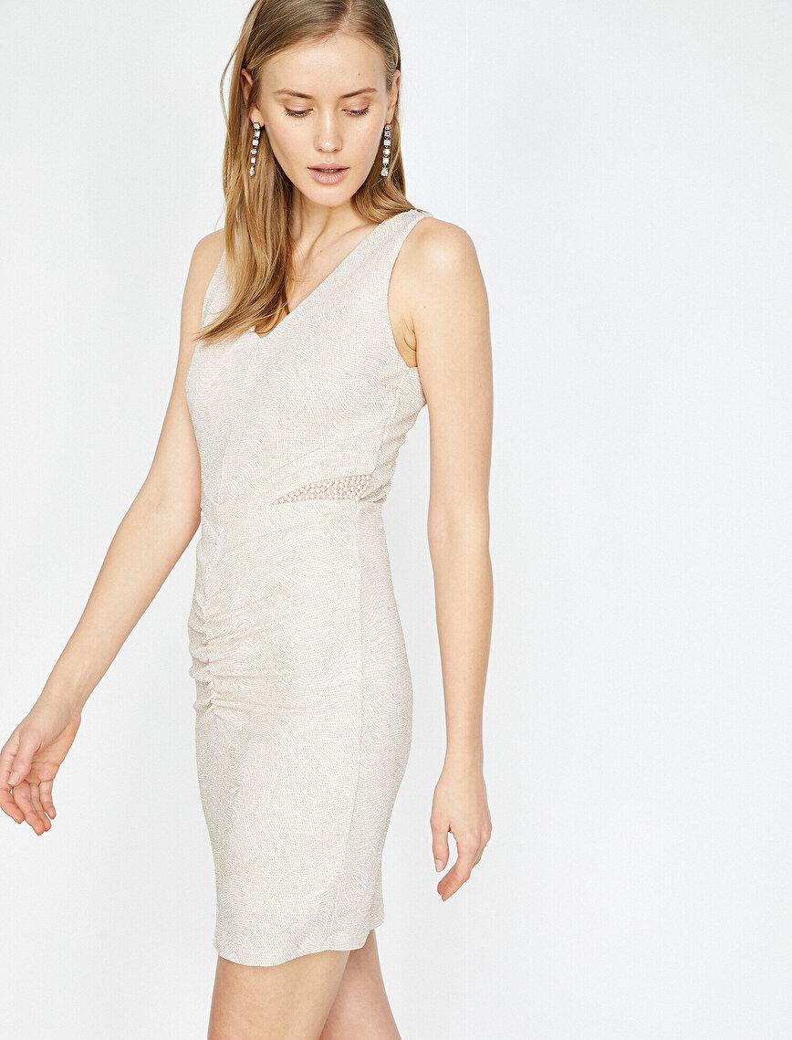 Beads Detailed Dress
