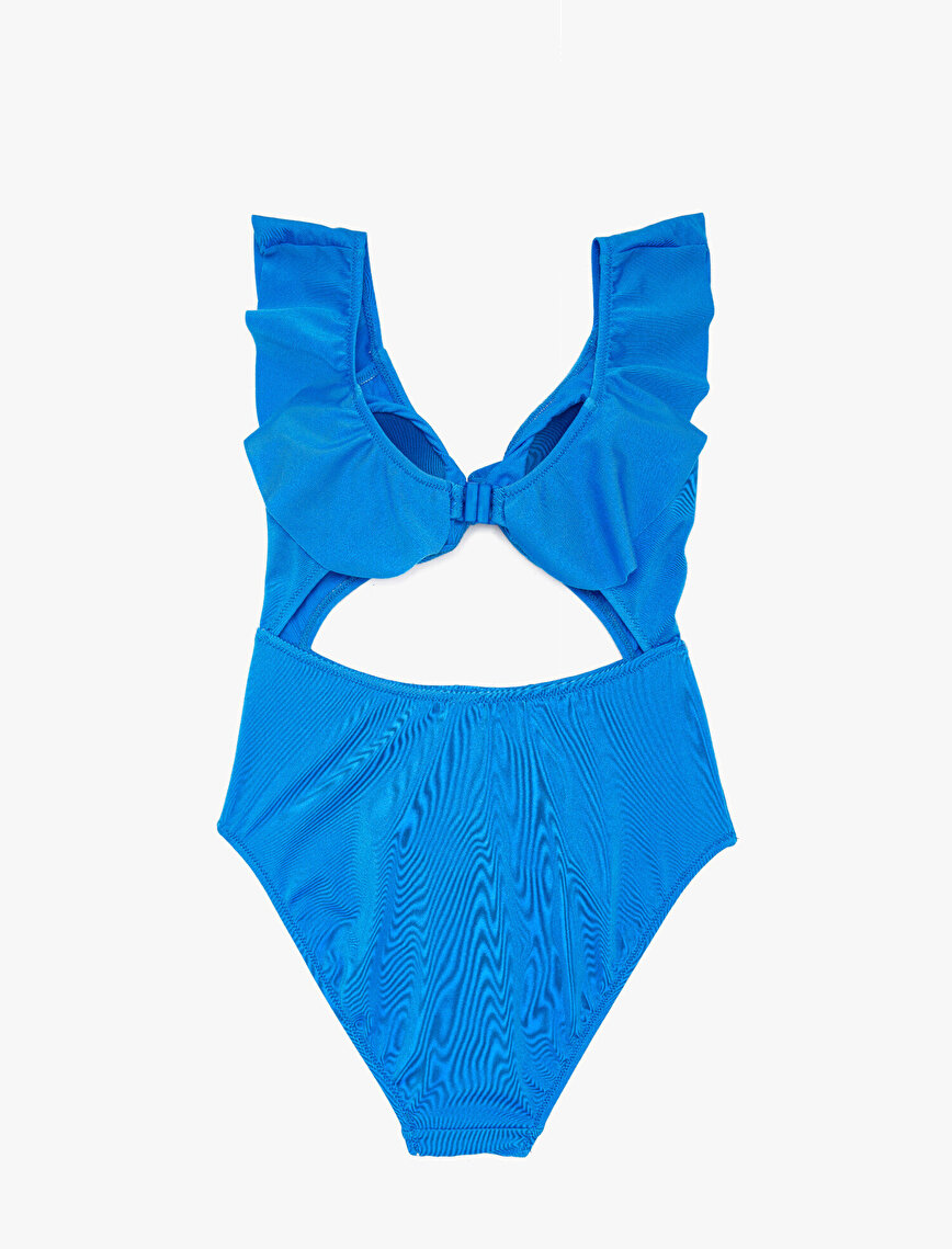 Tie Detailed Swimsuit