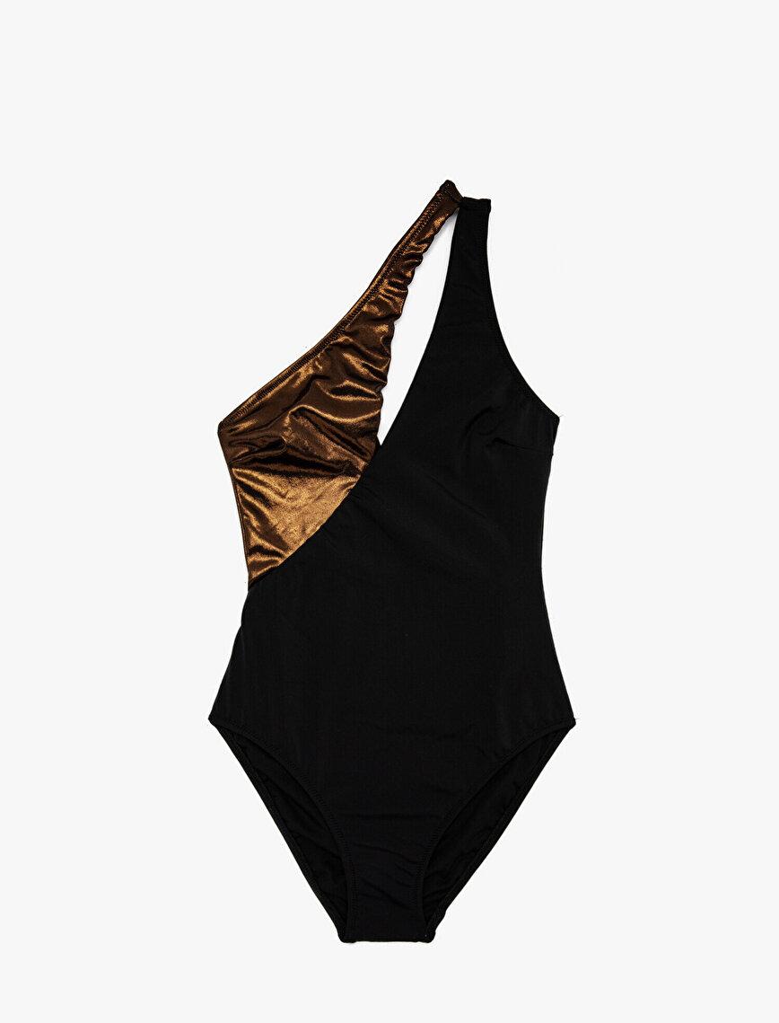Shoulder Detailed Swimsuit