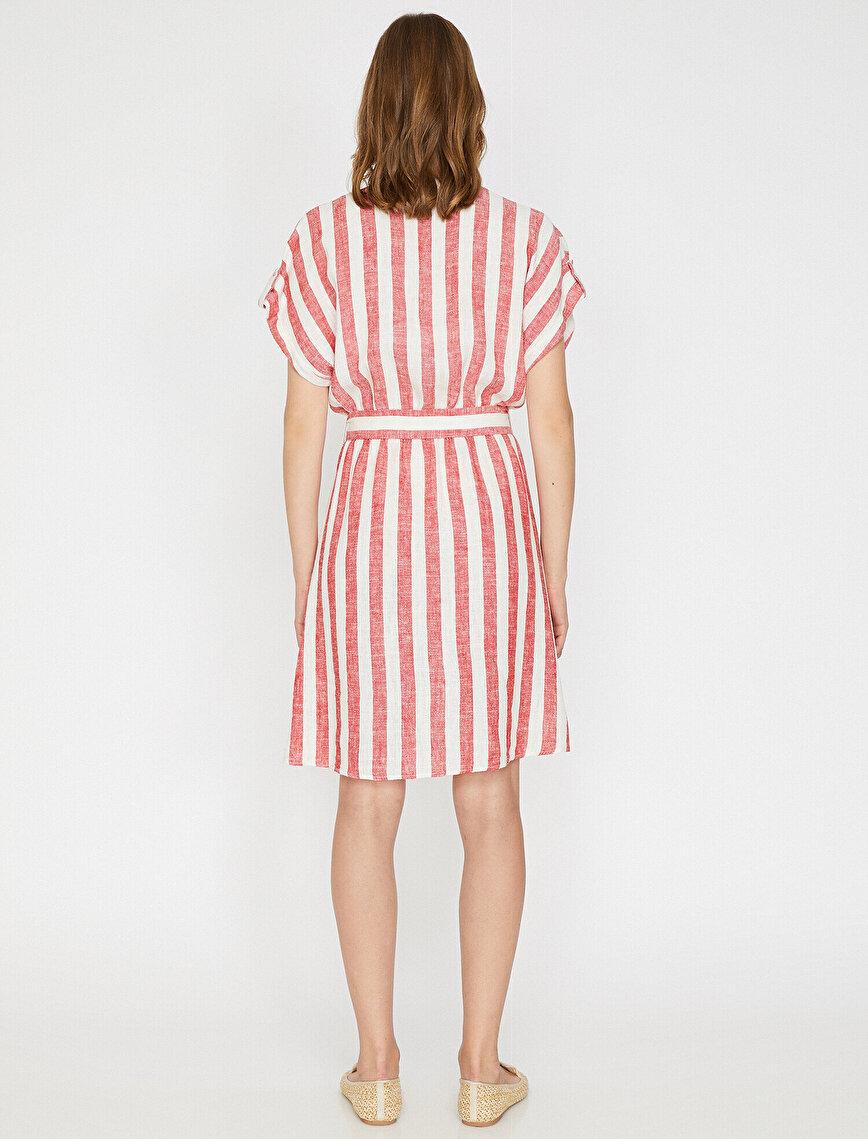 Button Detailed Dress