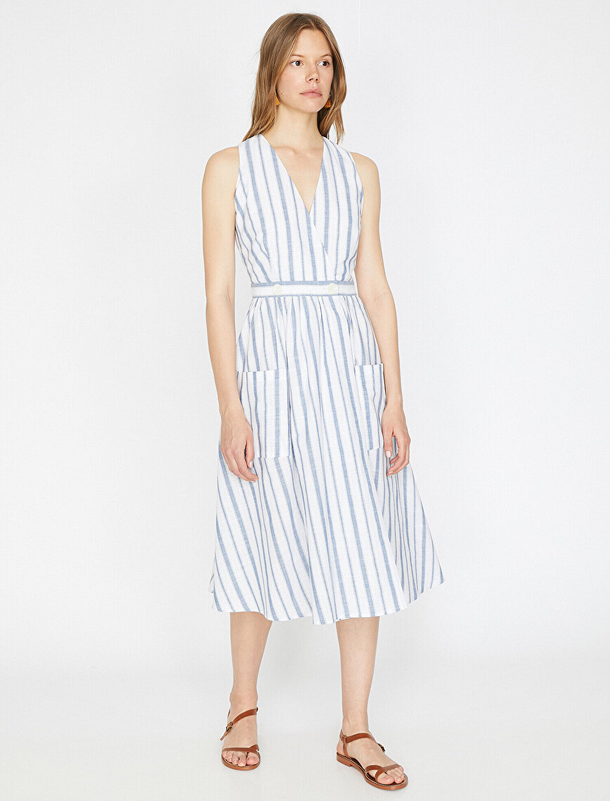 The Striped Dress