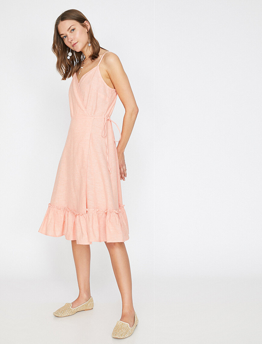 Frill Detailed Dress
