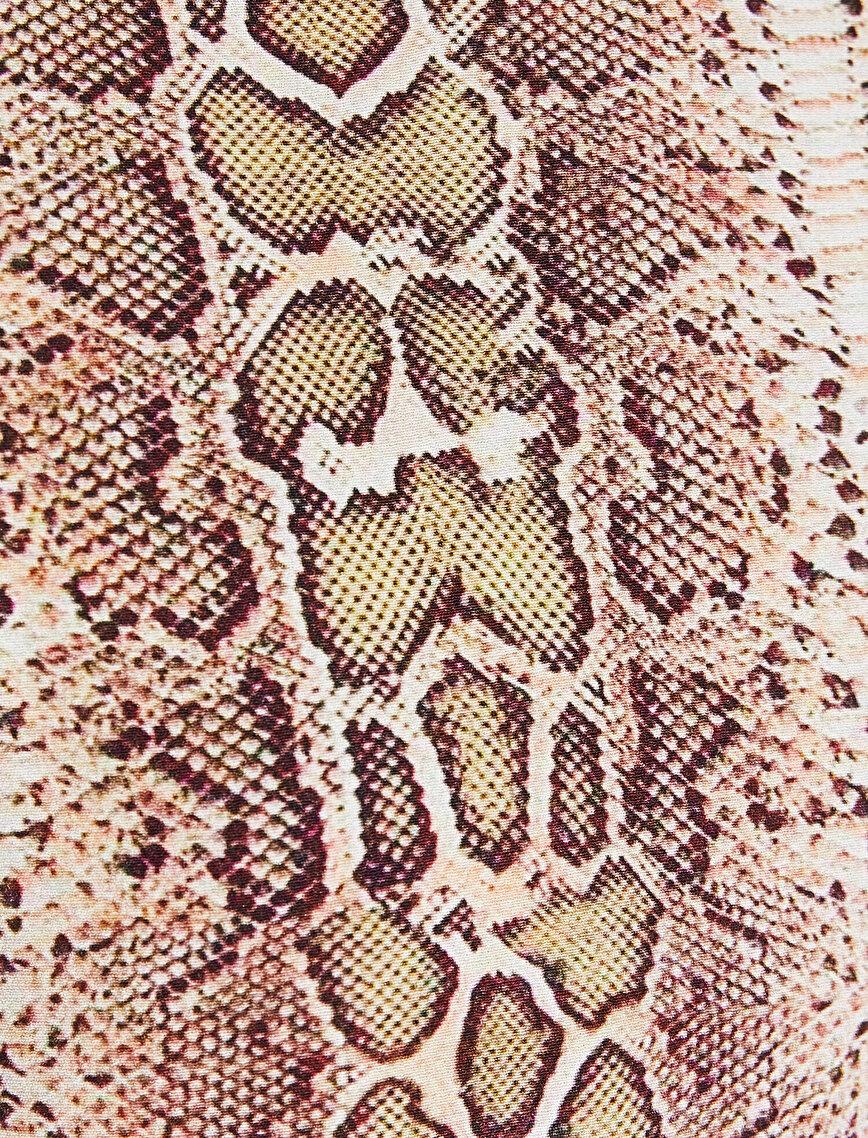 Snake Patterned Dress