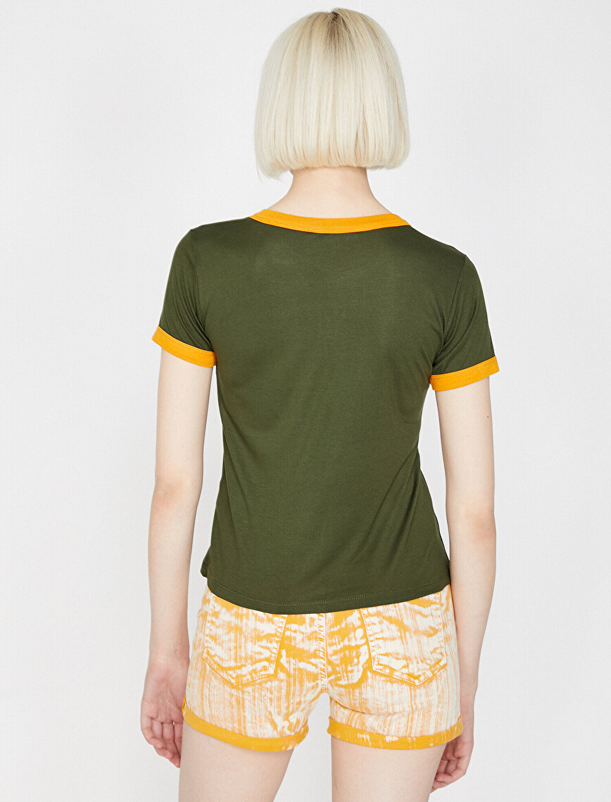 Aplikeli T-Shirt