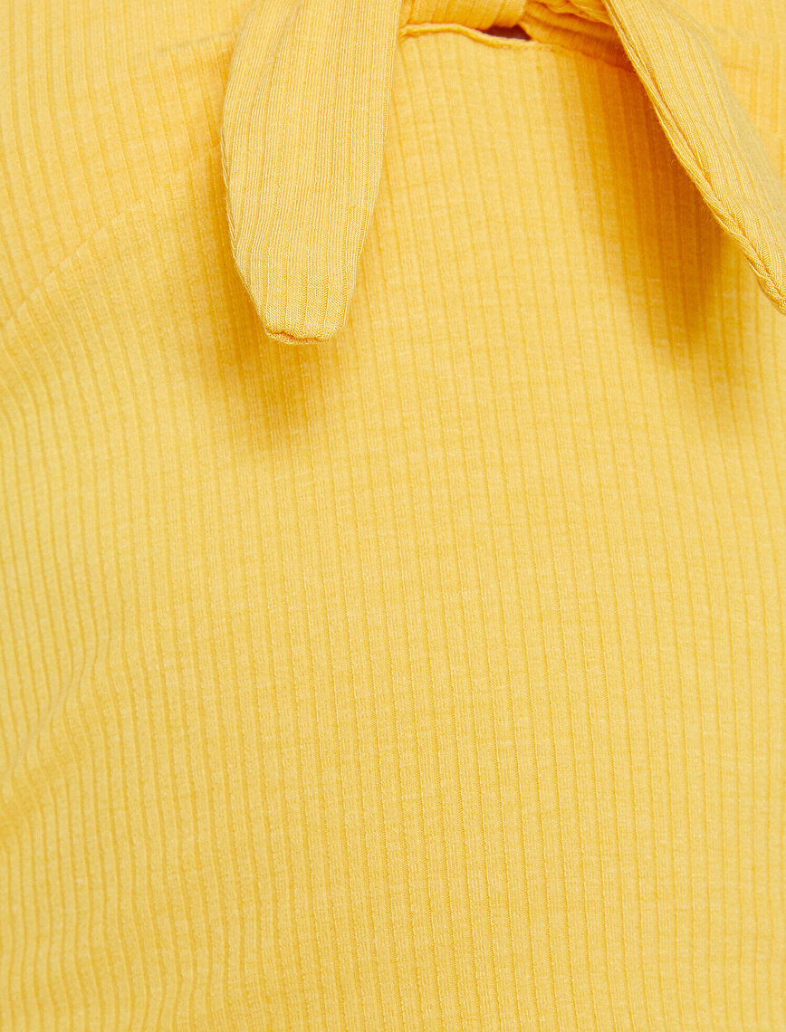 Neck Detailed T-Shirt