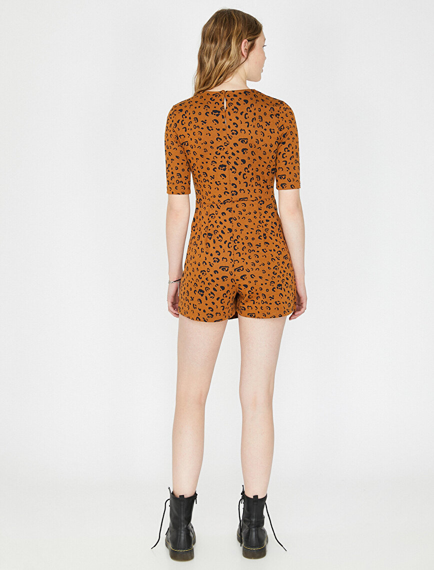 Leopar Patterned Jumpsuits