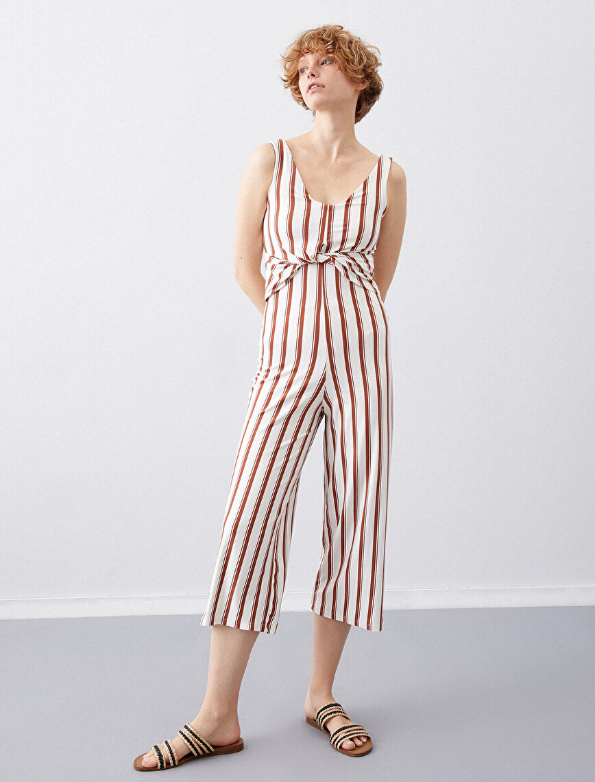 Striped Jumsuits
