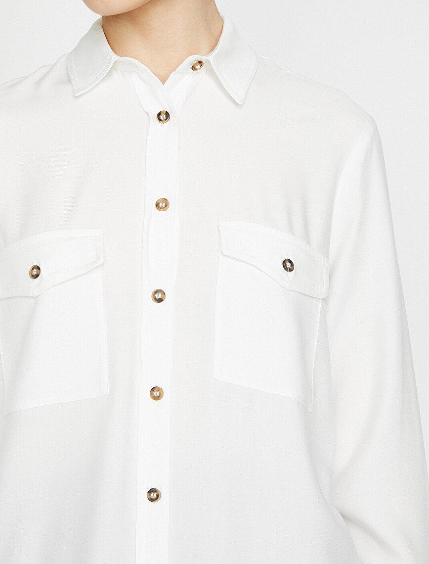 Beli Bağlamalı Gömlek