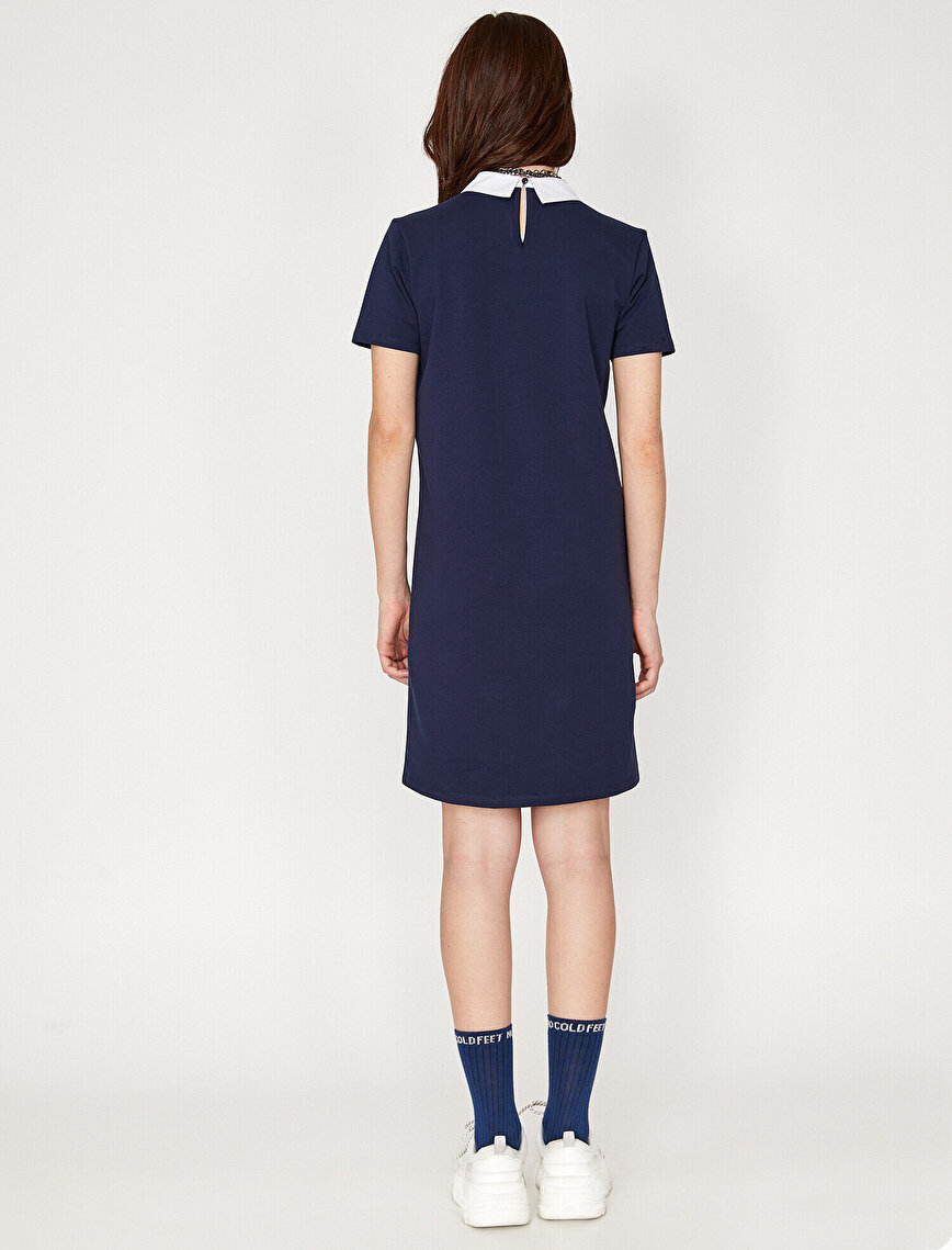 Shirt Collar Dress