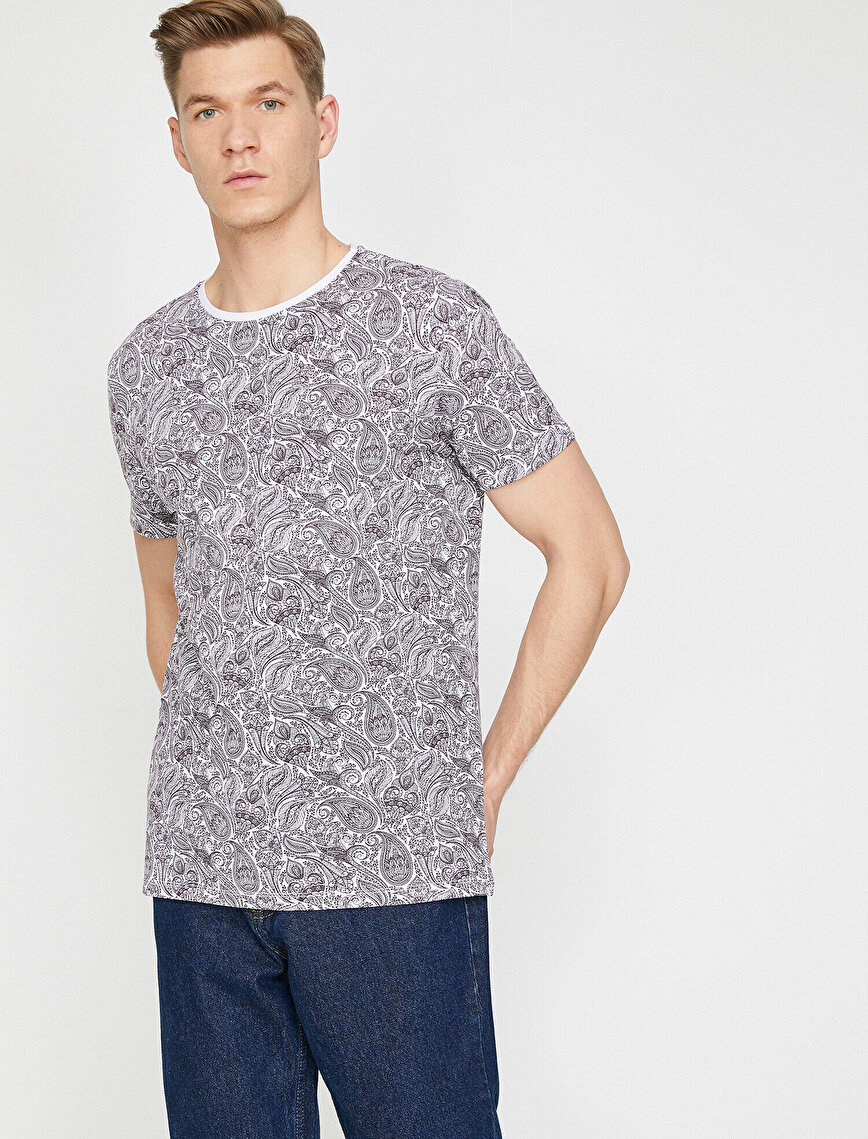 Desenli T-Shirt