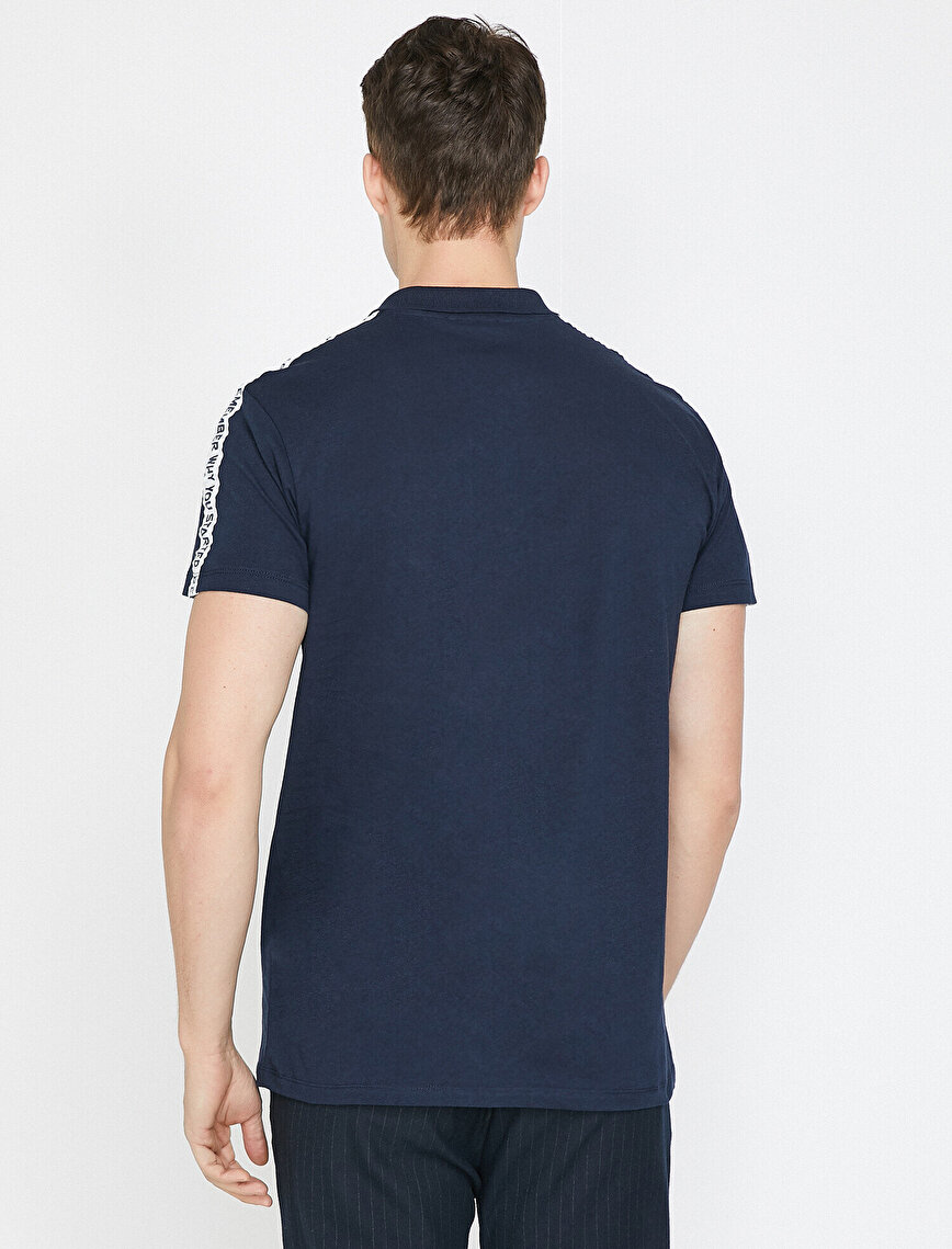 Letter Prnted T-Shirt