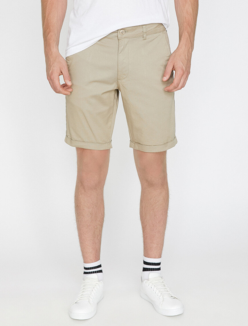 Banded Detailed Shorts