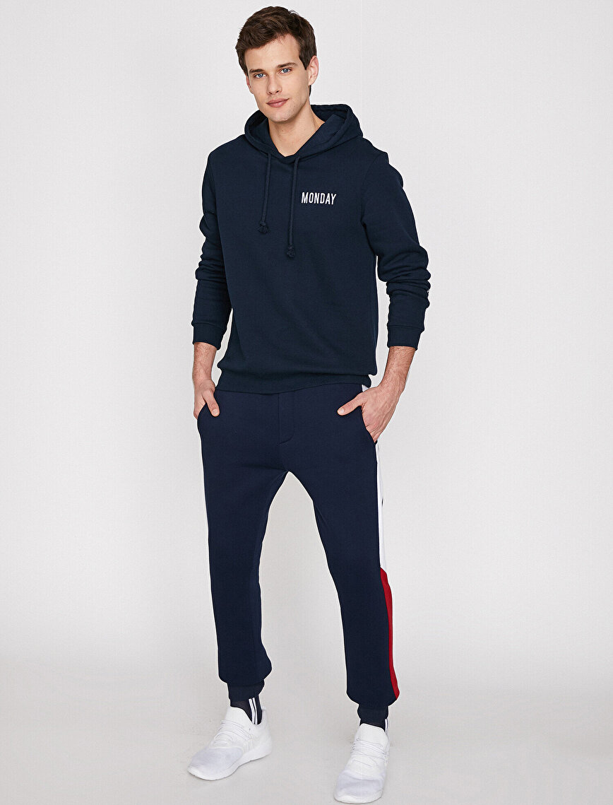 Banded Detailed Joggings Pants