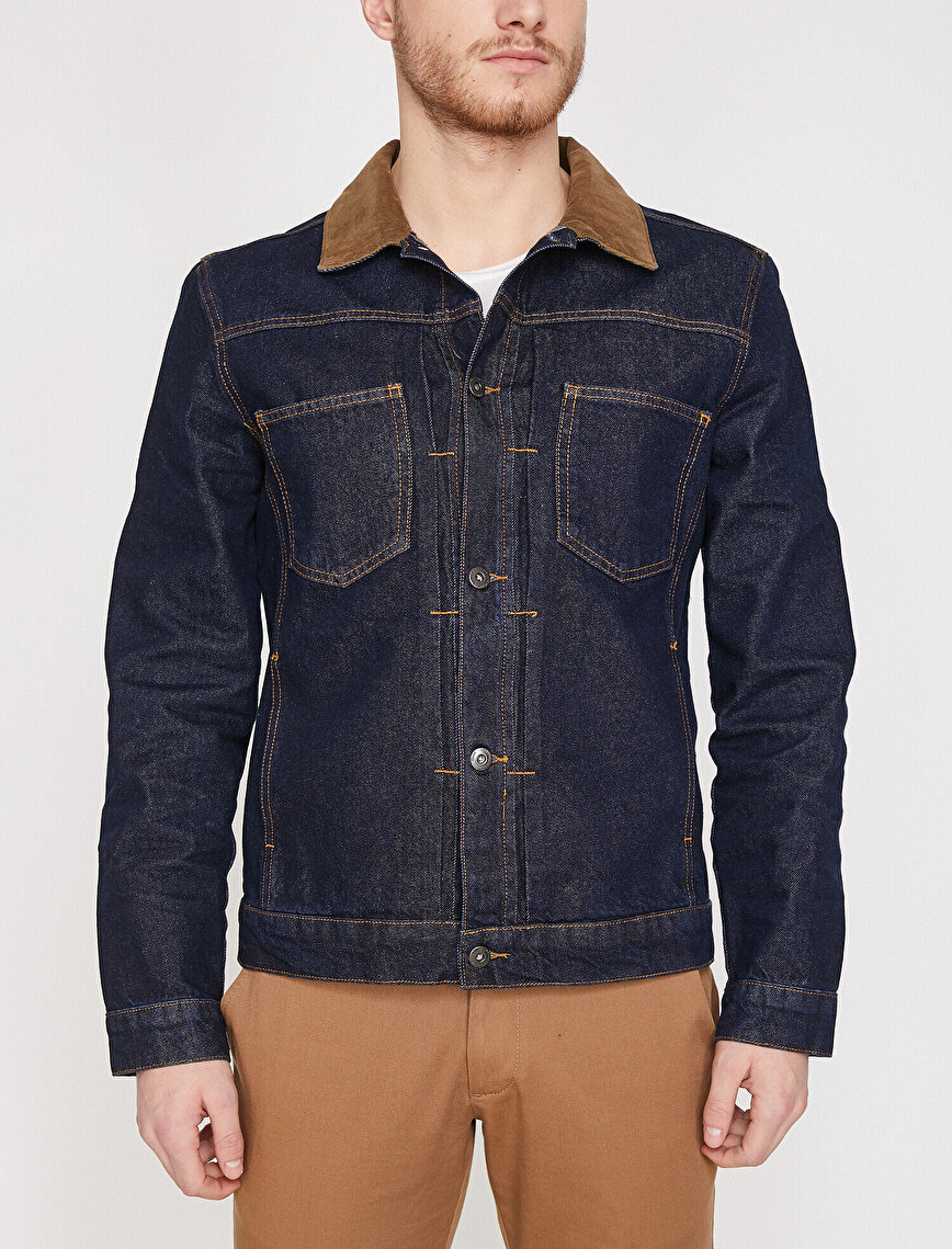Pocket Detailed Jean Jacket