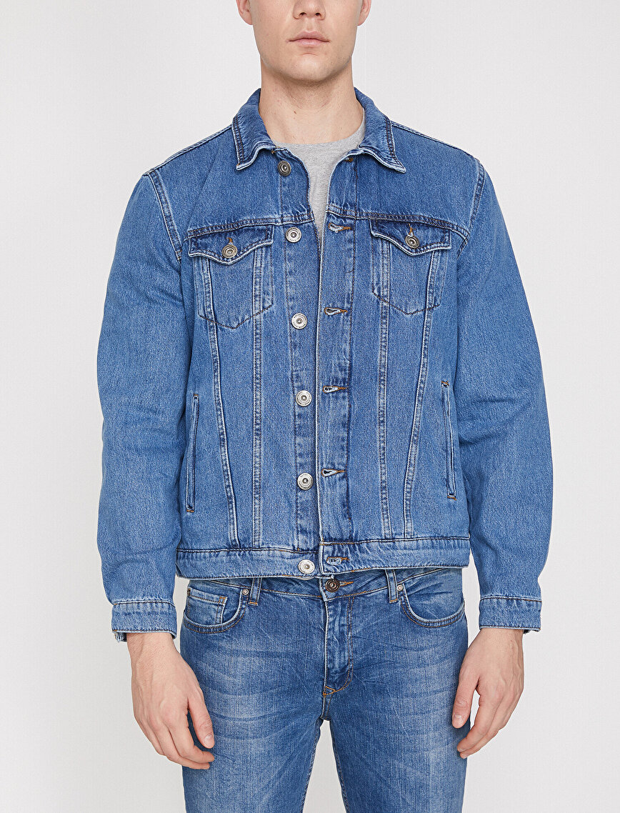 Classic Collar Jean Jacket