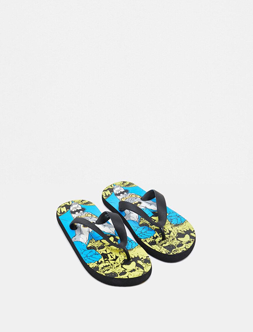Batman Licensed Flip Flops