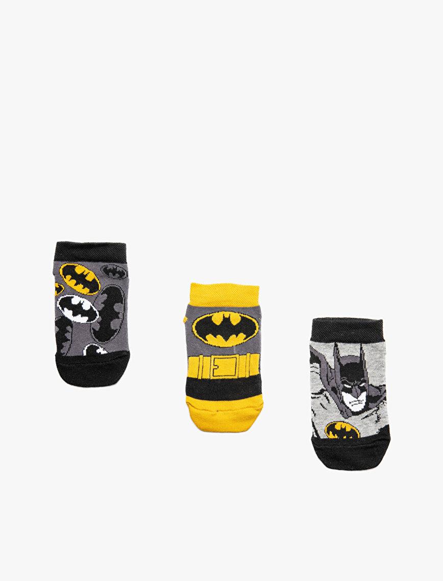 Batman Printed 3 Pack Socks