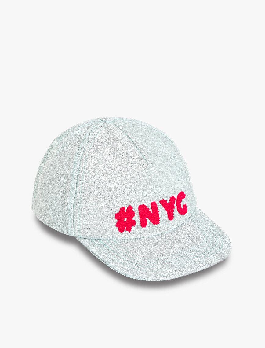 Yazılı İşlemeli Şapka