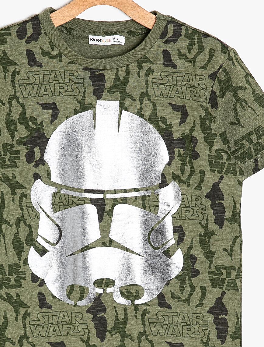 Star Wars Licensed Printed T-Shirt