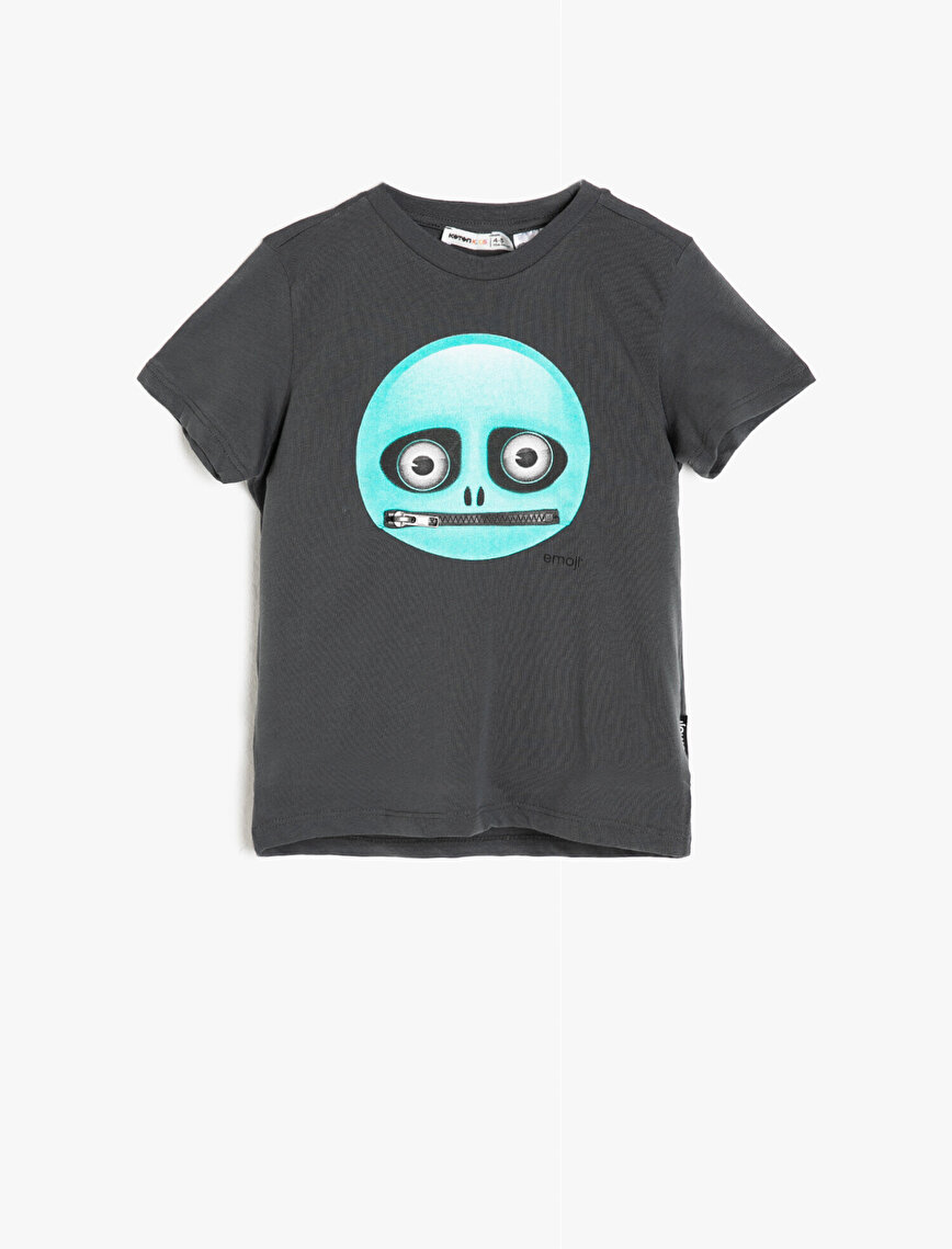 Emoji Licensed Printed T-Shirt