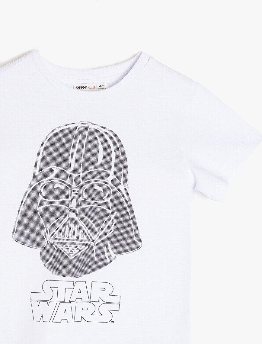 Star Wars Lisanslı Baskılı T-Shirt