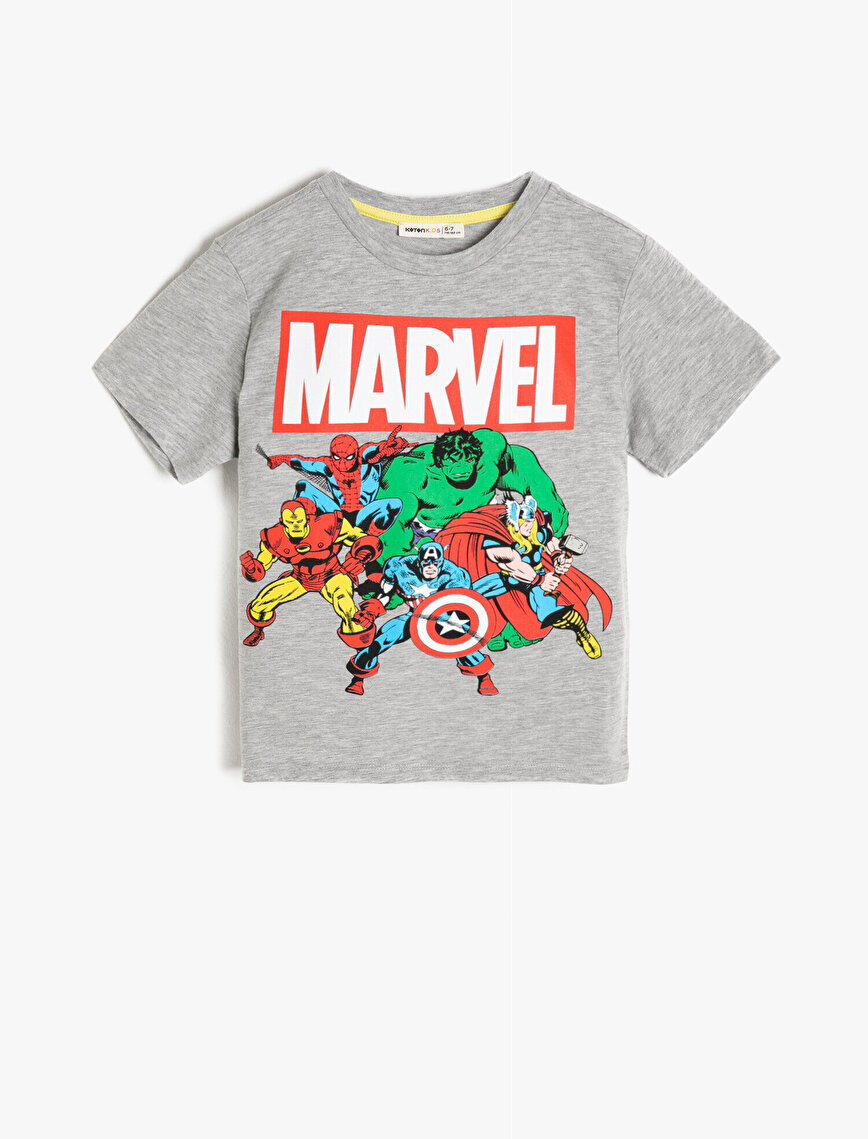 Marvel Licensed Printed T-Shirt