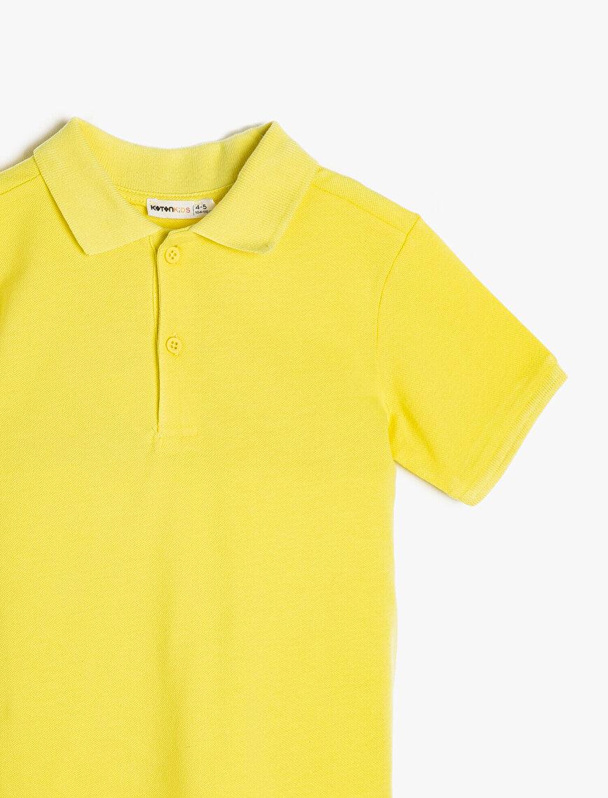 Polo Neck T-Shirt
