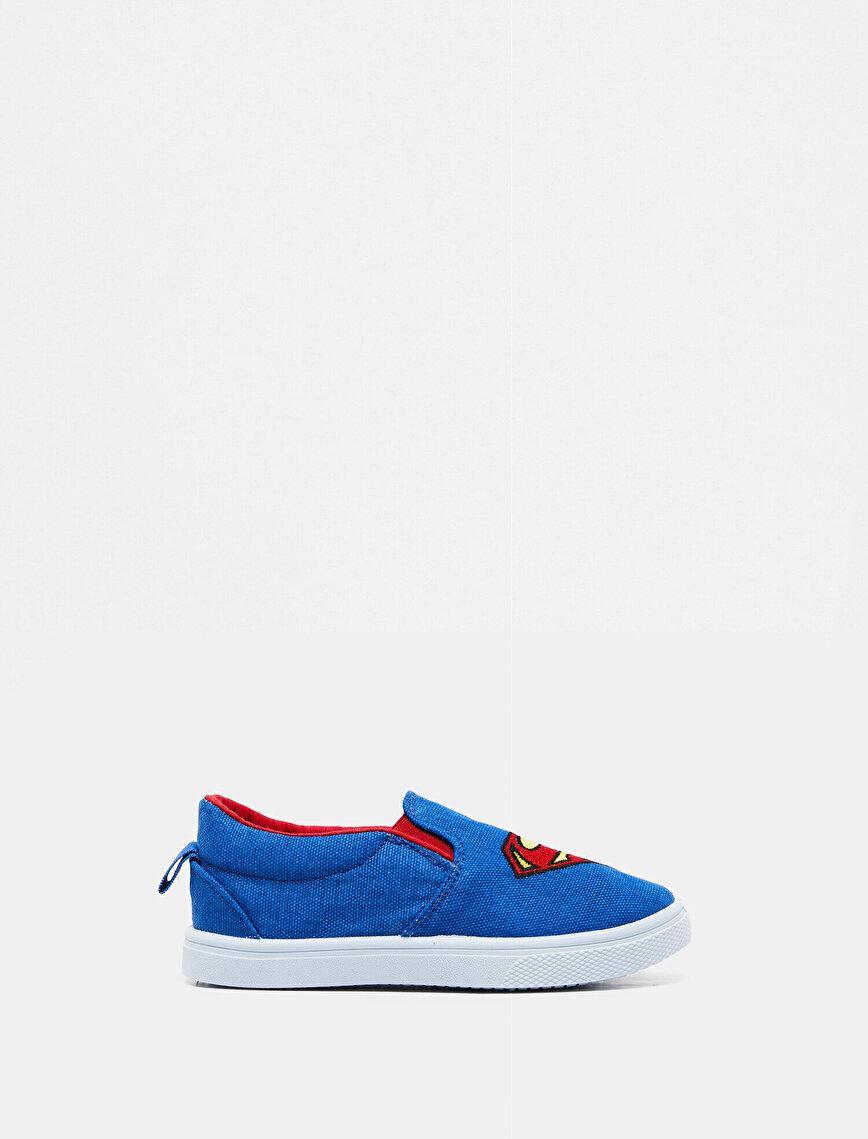 Superman Lisanslı Baskılı Ayakkabı