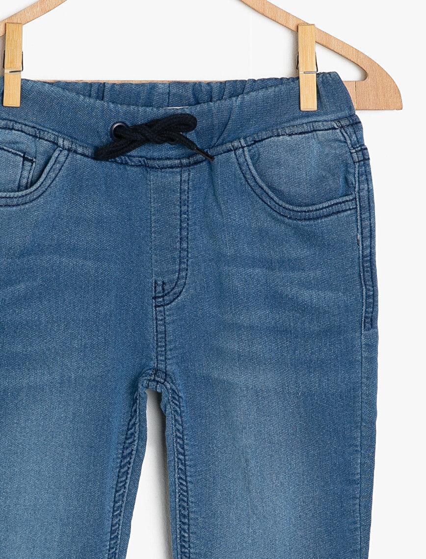 Tie Waist Jeans