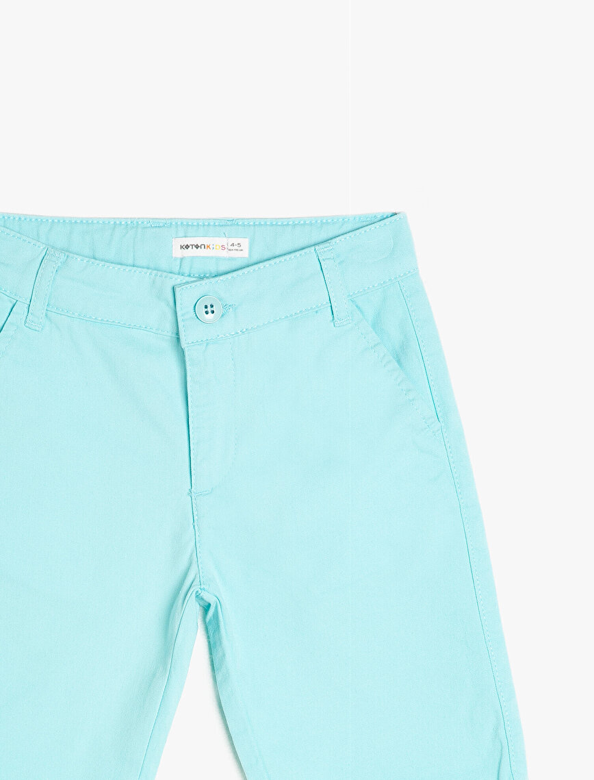 Pocket Detailed Shorts