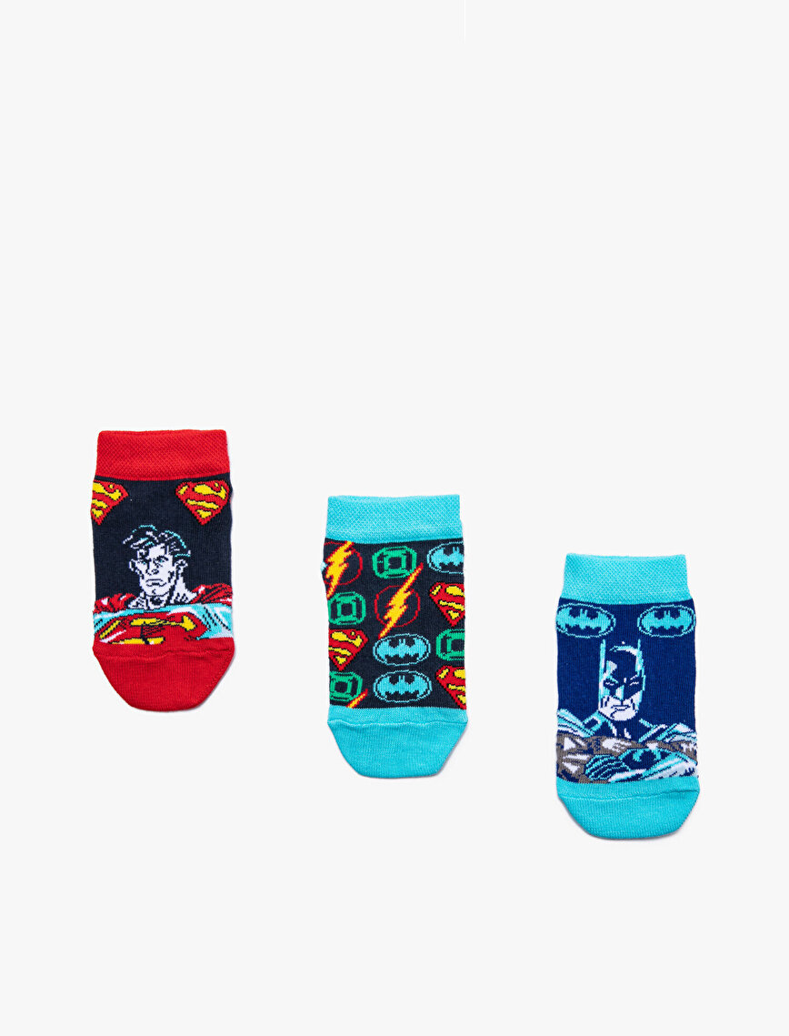 Marvel Printed 3 Packs Man Socks