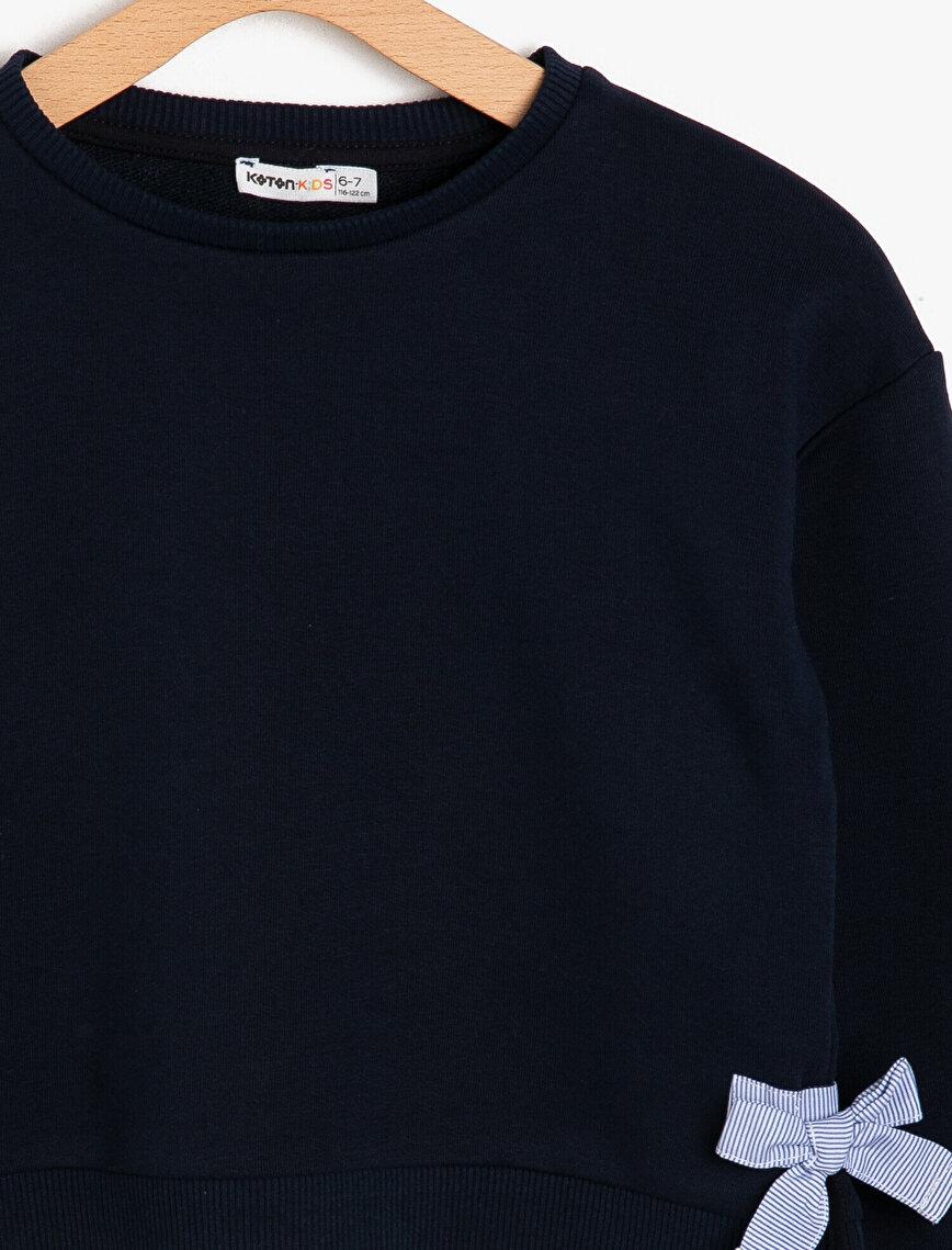 Fiyonk Detaylı Sweatshirt