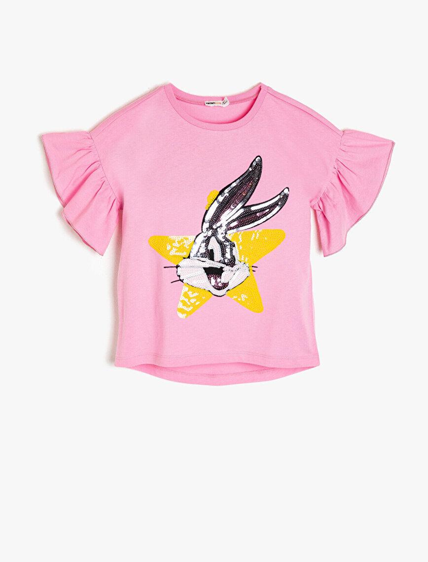 Bugs Bunny Lisanlı T-Shirt