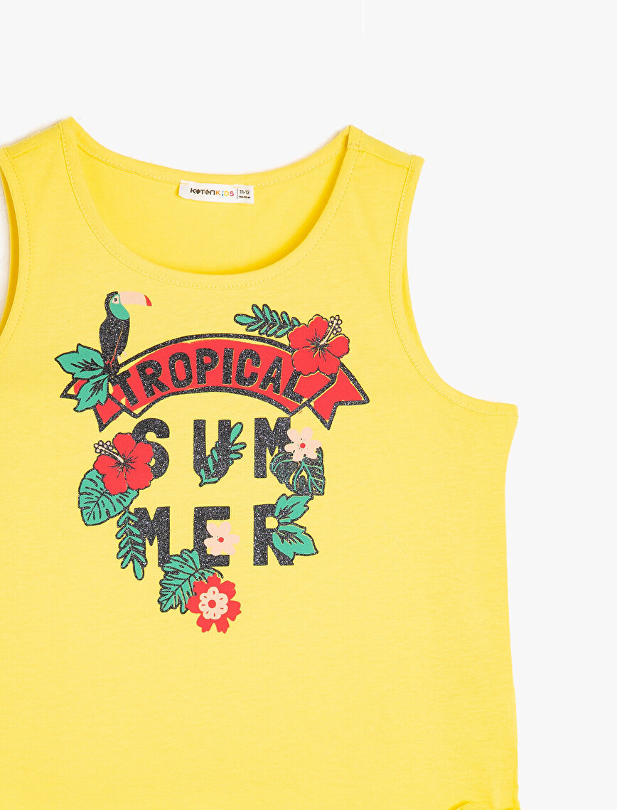 Letter Prnted Tank Top