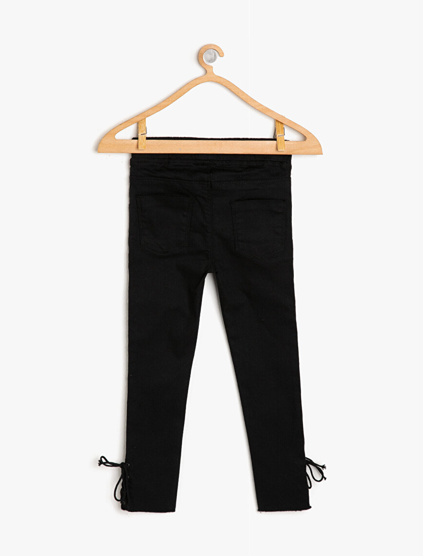 Leg Detailed Trousers
