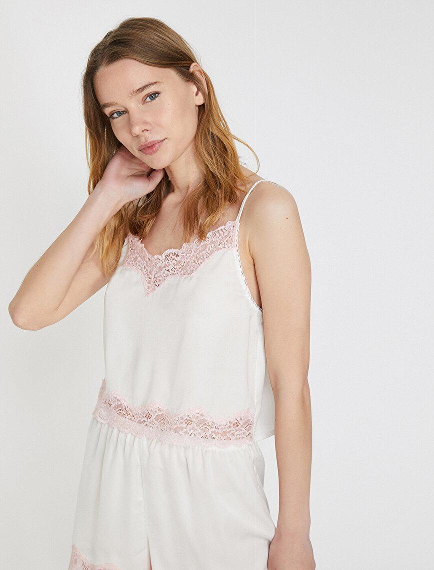 Bridal Pyjama Top